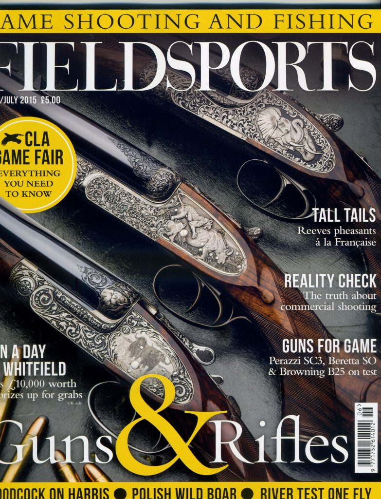Field Sport June July 2015 cover
