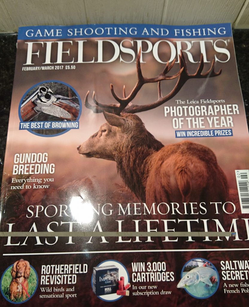 FieldSports Feb-March 2017