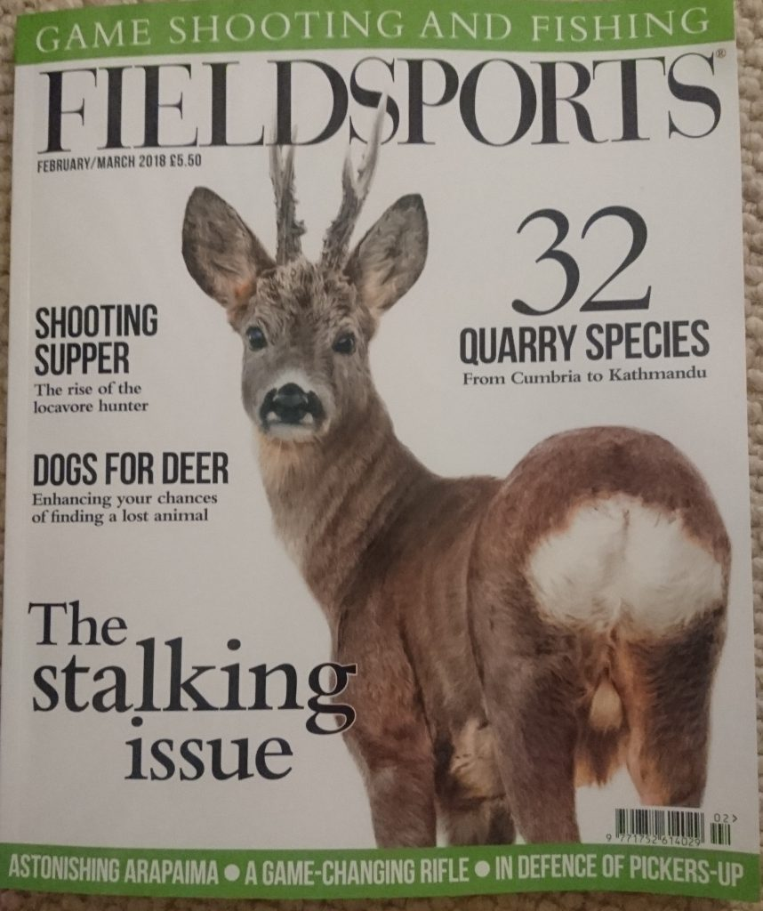 Fieldsports Cover Jan 2018