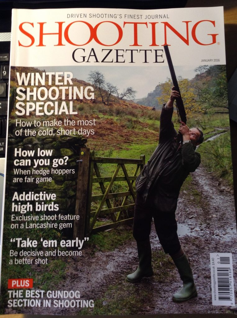 Shooting Gazette Jan 2016 Cover 1